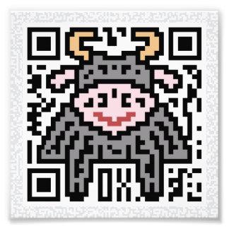 Código de QR el buey Fotografias