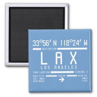 Código del aeropuerto de Los Ángeles Imán