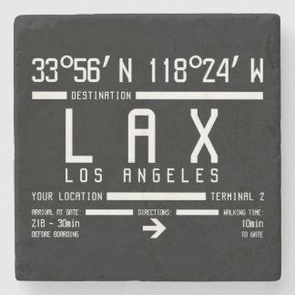 Código del aeropuerto de Los Ángeles Posavasos De Piedra