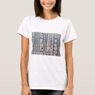 Código Morse de los árboles de abedul Camiseta