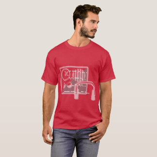 Código Morse: Desde 1836 - la camiseta cardinal de
