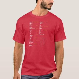 Código Morse - grito pasado Camiseta