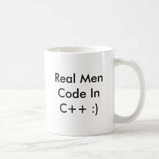 Código real inc. de los hombres++ :) taza de café