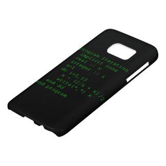Código verde del FORTRAN Funda Samsung Galaxy S7