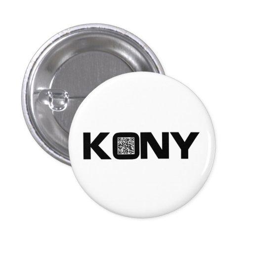 Código video José Kony de Kony 2012 QR Pins