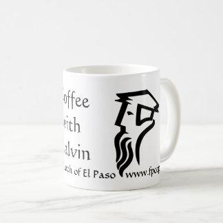 Coffe con la taza de Calvin