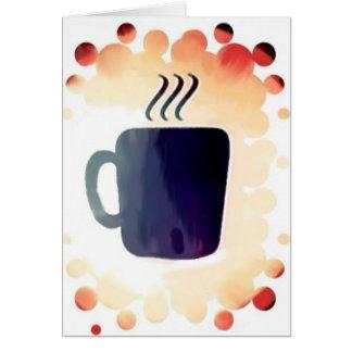 Coffe:  No está apenas para el desayuno Tarjeta