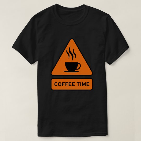 Coffee Hazard Tshirt Camiseta