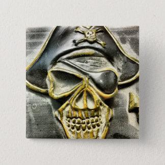 Cofre del tesoro alegre del pirata de Rogelio Chapa Cuadrada