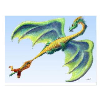 Coja un dragón 2 - postal