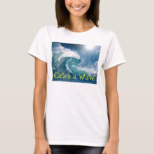 Coja una onda camiseta
