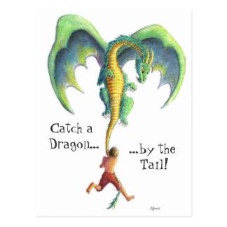 Coja una postal del dragón