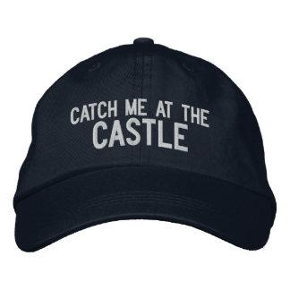 Cójame en el gorra del castillo gorra de beisbol bordada