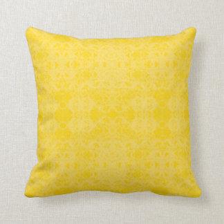 Cojín amarillo