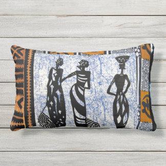 Cojín De Exterior Contemporáneo: Diseño africano del estilo