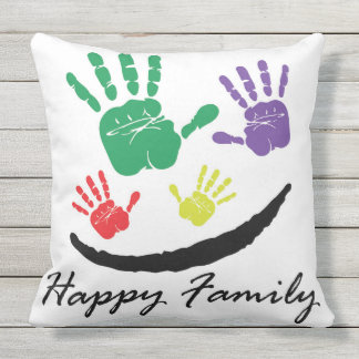 Cojín De Exterior Familia feliz