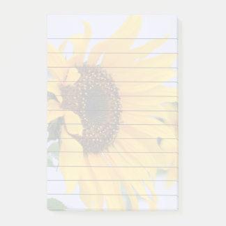 Cojín de notas de post-it de la floración 4x6 del