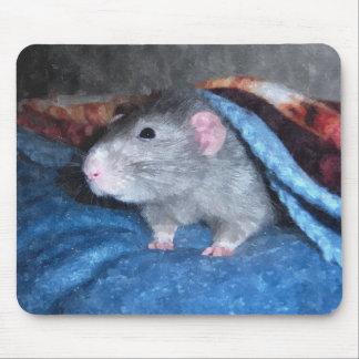 Cojín de ratón azul de la rata de Dumbo de la acua Alfombrilla De Ratón