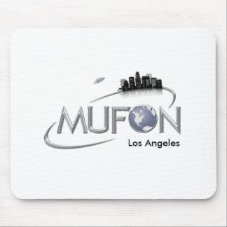 Cojín de ratón blanco de MUFON Los Ángeles Alfombrilla De Ratón