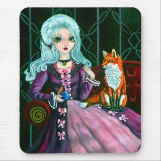 Cojín de ratón de Fairy Goth Strange Company Tapetes De Ratón