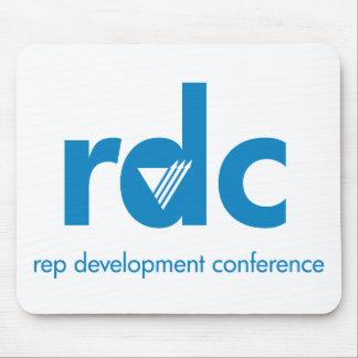Cojín de ratón de la conferencia del desarrollo de alfombrillas de ratones