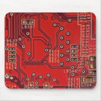cojín de ratón de la placa de circuito alfombrilla de ratón