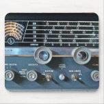 Cojín de ratón de la radio de la onda corta del vi alfombrillas de ratón