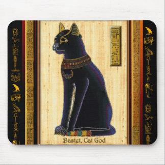 Cojín de ratón del gato egipcio de BASTET Alfombrilla De Ratón
