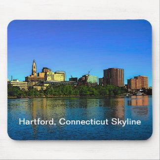 Cojín de ratón del horizonte de Hartford Alfombrilla De Ratón