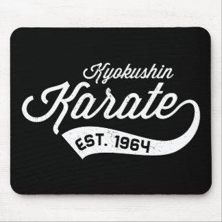 Cojín de ratón del vintage del karate de Kyokushin Alfombrilla De Ratón