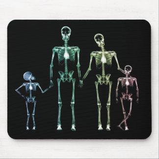 cojín de ratón esquelético de la radiografía alfombrilla de ratón