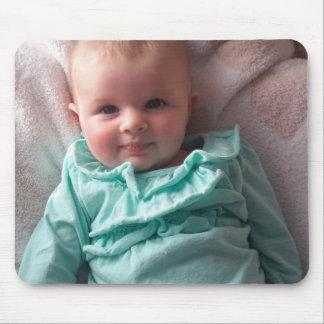 Cojín de ratón personalizado de la foto del bebé alfombrilla de ratón