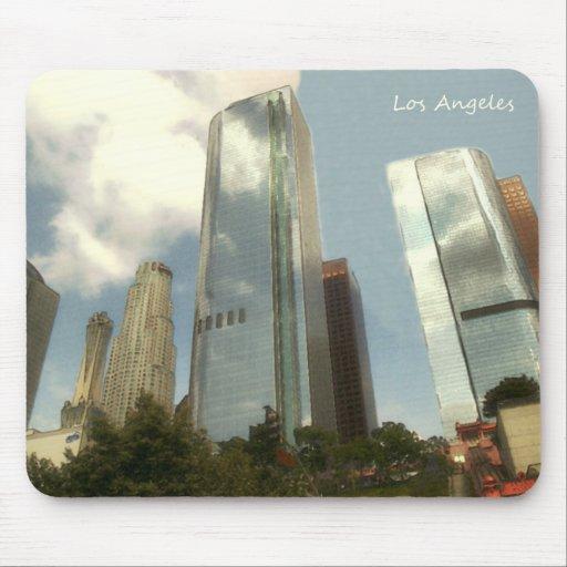 Cojín de ratón retro de Los Ángeles Tapete De Ratones