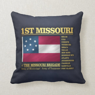 Cojín Decorativo 1r Infantería de Missouri (BA2)