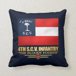 Cojín Decorativo 4to Infantería de Carolina del Sur