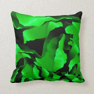Cojín Decorativo Abstracción desgastada verde
