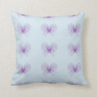 Cojín Decorativo Alas púrpuras