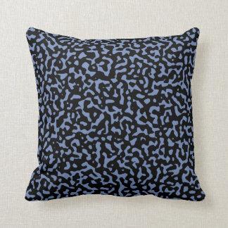 Cojín Decorativo Aleatoriedad azul y negra