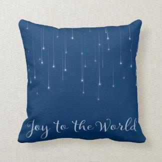 Cojín Decorativo Alegría a la noche estrellada del mundo