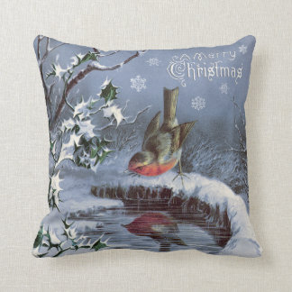 Cojín Decorativo ¡Almohada adorable de las Felices Navidad del