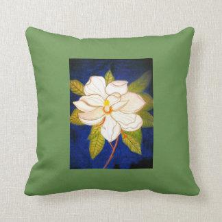 Cojín Decorativo ¡Almohada de la magnolia!