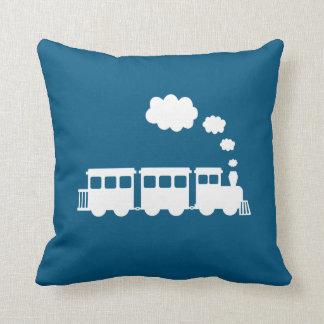 Cojín Decorativo ¡Almohada de tiro del tren - escoja su color!