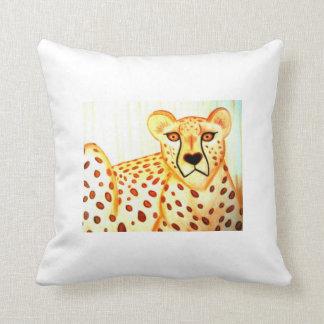 Cojín Decorativo ¡Almohada del guepardo!!!!!