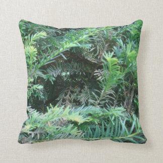 """Cojín Decorativo """"Almohada del tejo del bosque de Sherwood"""""""