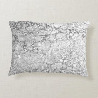Cojín Decorativo Almohada-Gris-Minimalist de mármol gris del acento