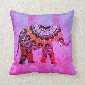 Cojín Decorativo ¡Almohada ultravioleta rayada magenta wow del