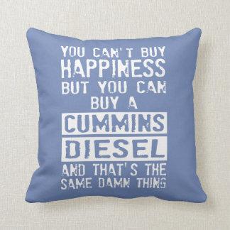 Cojín Decorativo ¿Ame su camión diesel?