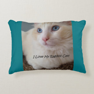 Cojín Decorativo Amo mi gato de Ragdoll