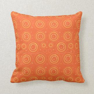 Cojín Decorativo Amortiguador anaranjado