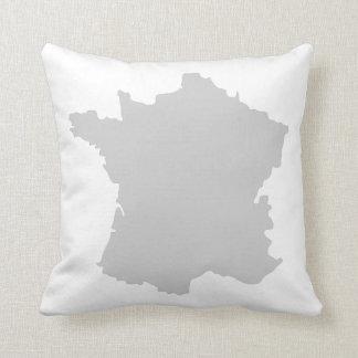 Cojín Decorativo Amortiguador del diseño del mapa del francés